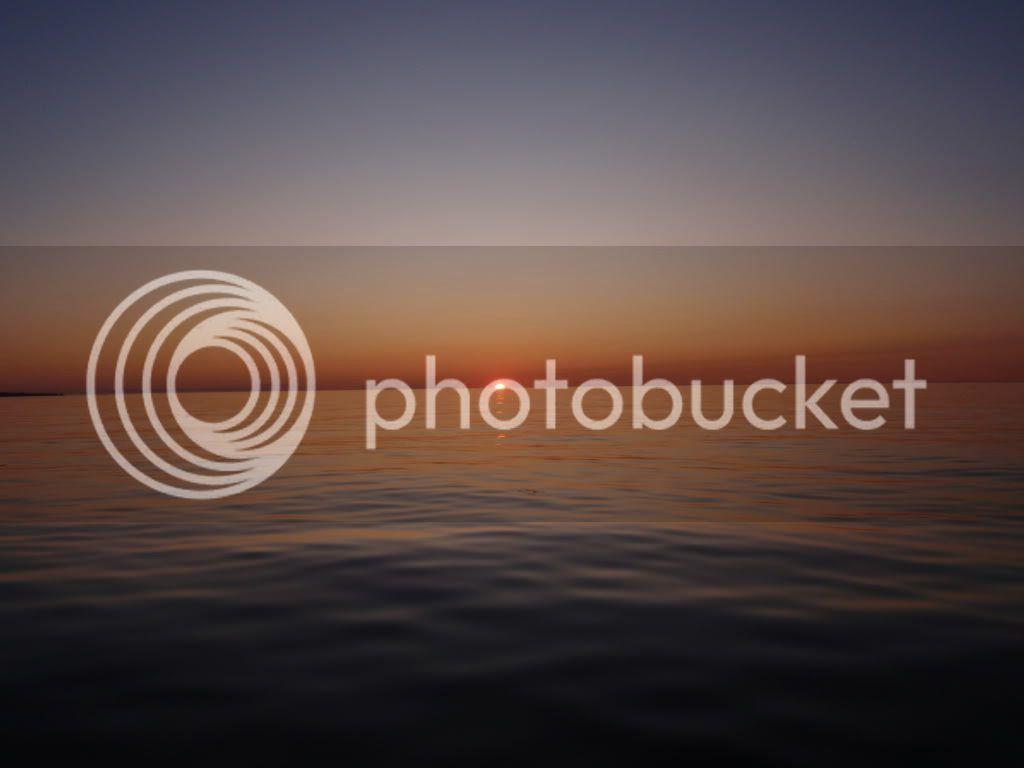 Coucher de soleil Ste-Anne-des-Monts