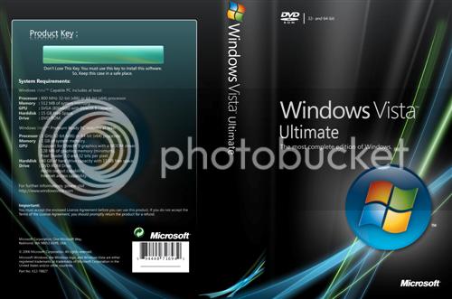 Windows Vista Ultimate WindowsVistaUltimateDVDCoverCustom