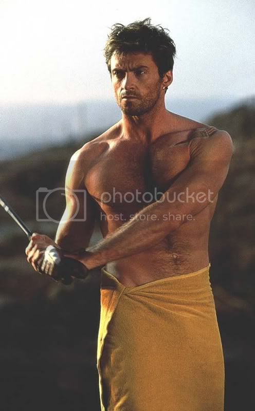 Pictures to drool over Jackman