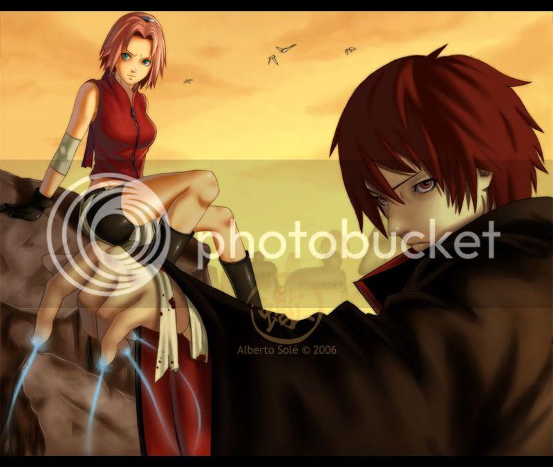 Naruto - Página 5 Sakura_vs_Sasori_2_by_SasoriSama