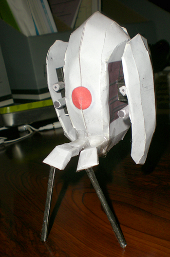 I has a Papercraft! :3 Sparky1