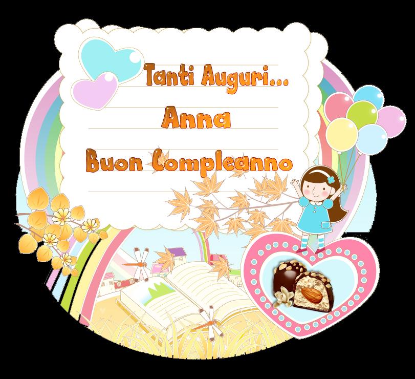 Auguri Graan...Buon Compleanno!! Anna
