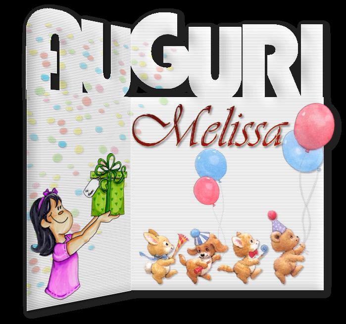 Buon compleanno Melissa Xmelissa25settembre