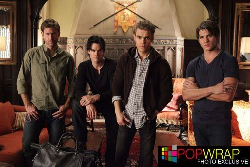 Exclusive: 'Vampire Diaries' mystery solved (New pic) BEHIND