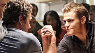 'The Vampire Diaries' recap: Fight night behind the ferris wheel Tvd-arm-wrestle