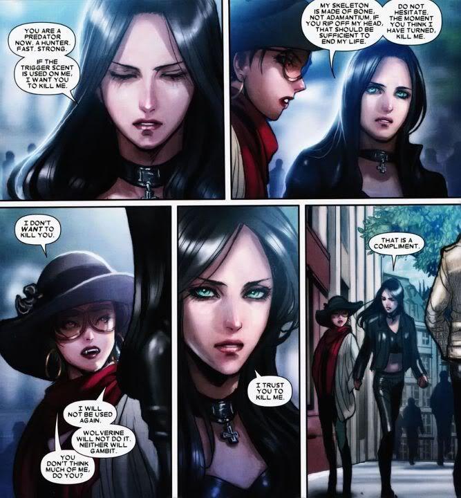 X-23 (Laura Kinney) x Vampire Jubilee: Possible Yuri couple ...