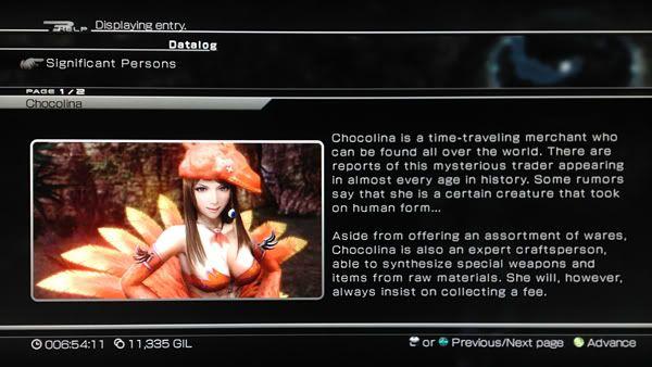 General Final Fantasy Universe Discussion FF13-2Chocolina