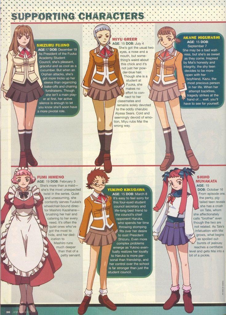 Mai-HIME and Mai-Otome Magazine Scans Scan6
