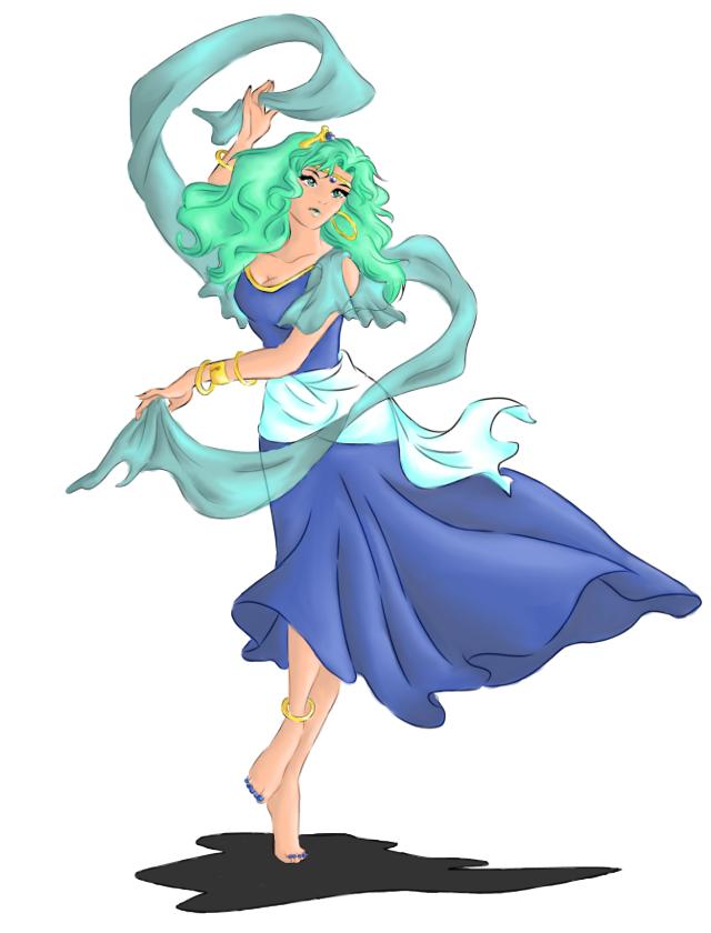 Bishoujo Senshi Sailor Moon, PGSM, Sera Myu and Sailor Moon Crystal Thread - Page 2 Michiru_as_Esmeralda_by_Ebsie