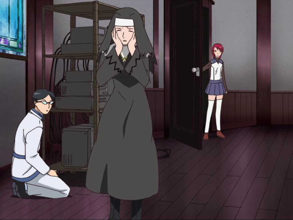 What did Nao Yuuki say to Yukariko in the confessional? BE CREATIVE! YukarikoSanada-1