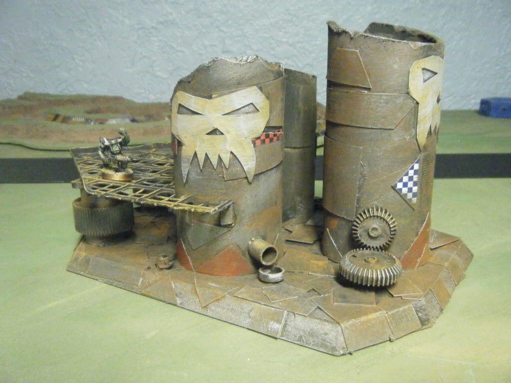 Ork Terrain DaTanks