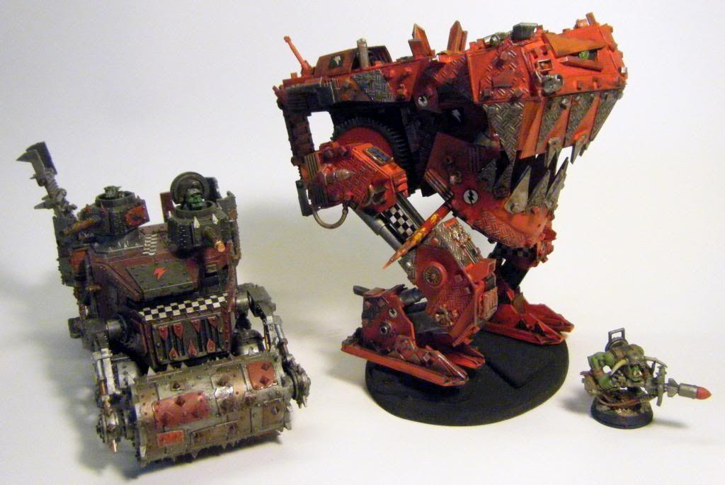 Mega-Dread (Mech Squig) Beastscale