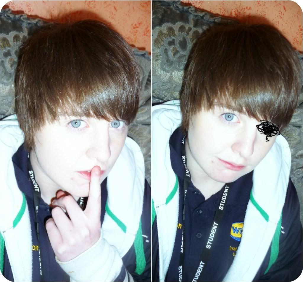 Me =] caucasian xP Ulzzangcollage