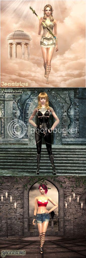 Jennisims descargas sims3 sims2 Warrior-jennisims2-vert