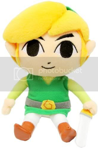 My Toon Link Plushie