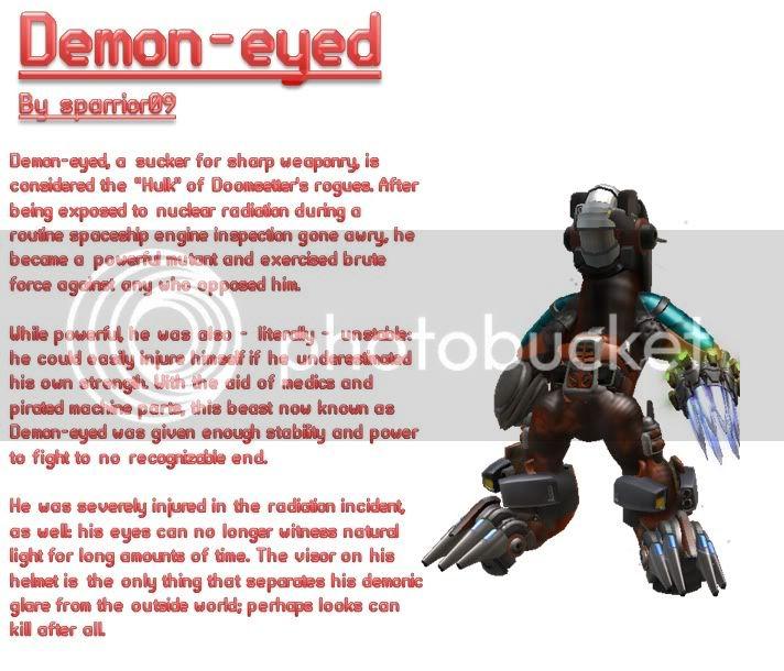 Asymmetry World! Post your Asymmetric Designs! Demon-eyed