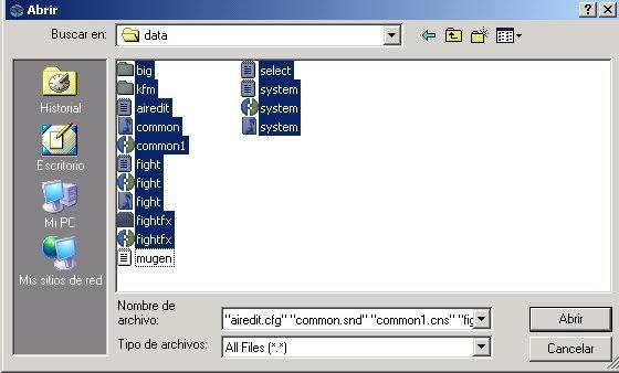 Encriptar Mugen con Molebox 2-3