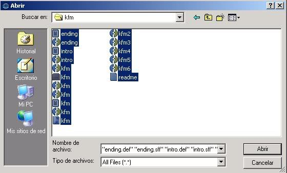 Encriptar Mugen con Molebox 3-2