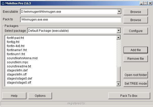 Encriptar Mugen con Molebox 4-1