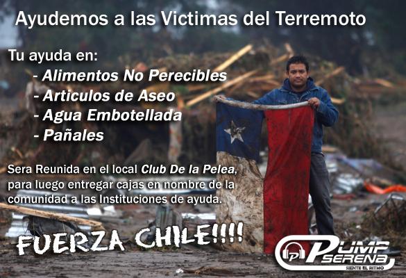 Ayudemos a las Victimas del Terremoto Ayuda