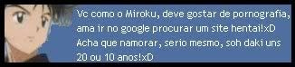 Descubra o animal que esta dentro de você! Miroku