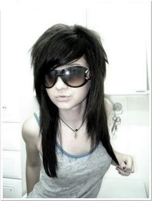 Military School Emo-girl-sun-glasses
