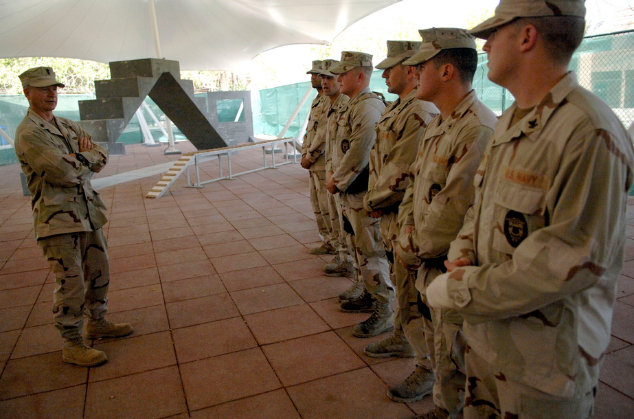 DCU du Petty Officer Christopher Jackson, US Navy Bahrain (Naval Security Forces) NSFBahrain