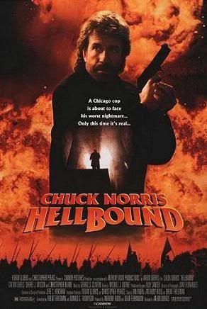 Chuck Norris Hellboundposter