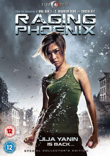 Jeeja Yanin (Actriz, Artista Marcial Tailandesa) Raging-Phoenix-poster