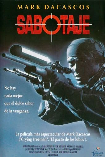 Mark Dacascos Sabotaje-1996-poster