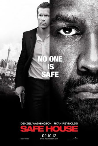 Denzel Washington Safe-House-poster