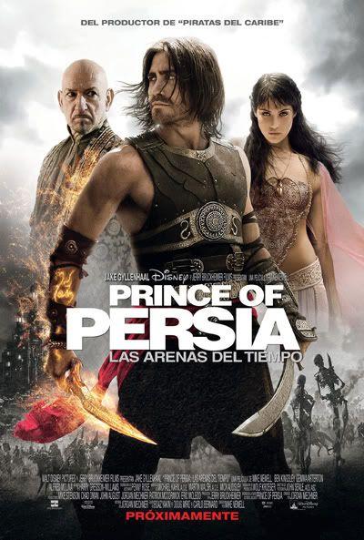 Prince of Persia: Las Arenas del Tiempo (2010) Princeofpersiaposter