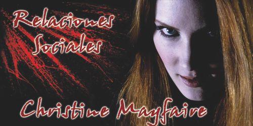 Christine Mayfaire Relaciones