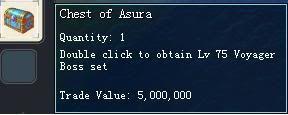 Items obtainable from NPCs ChestofAsura