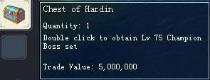 Items obtainable from NPCs ChestofHardin