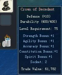 Items obtainable from NPCs CrownofDecedent