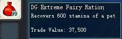 Items obtainable from NPCs DGExtremeFairyRation-1