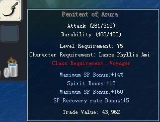 Items obtainable from NPCs PenitentofAsura
