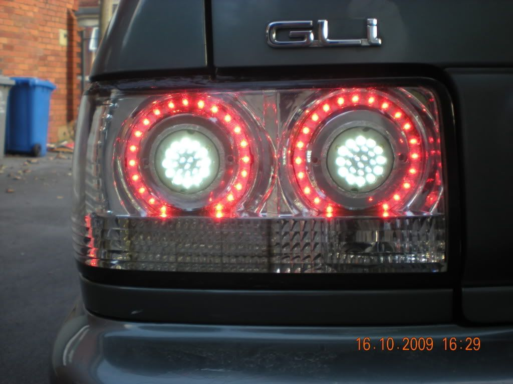 Custom Saloon Rear lights DSCN1861