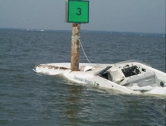 When it's ok to use the 'F' word Boat