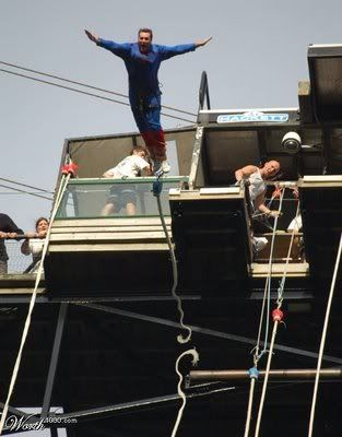 When it's ok to use the 'F' word Bungy