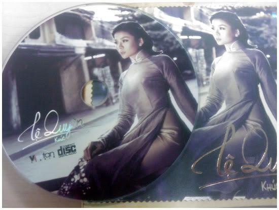 Lệ Quyên-Albuml Khúc Tình Xưa(2010) KhucTinhXua-CD