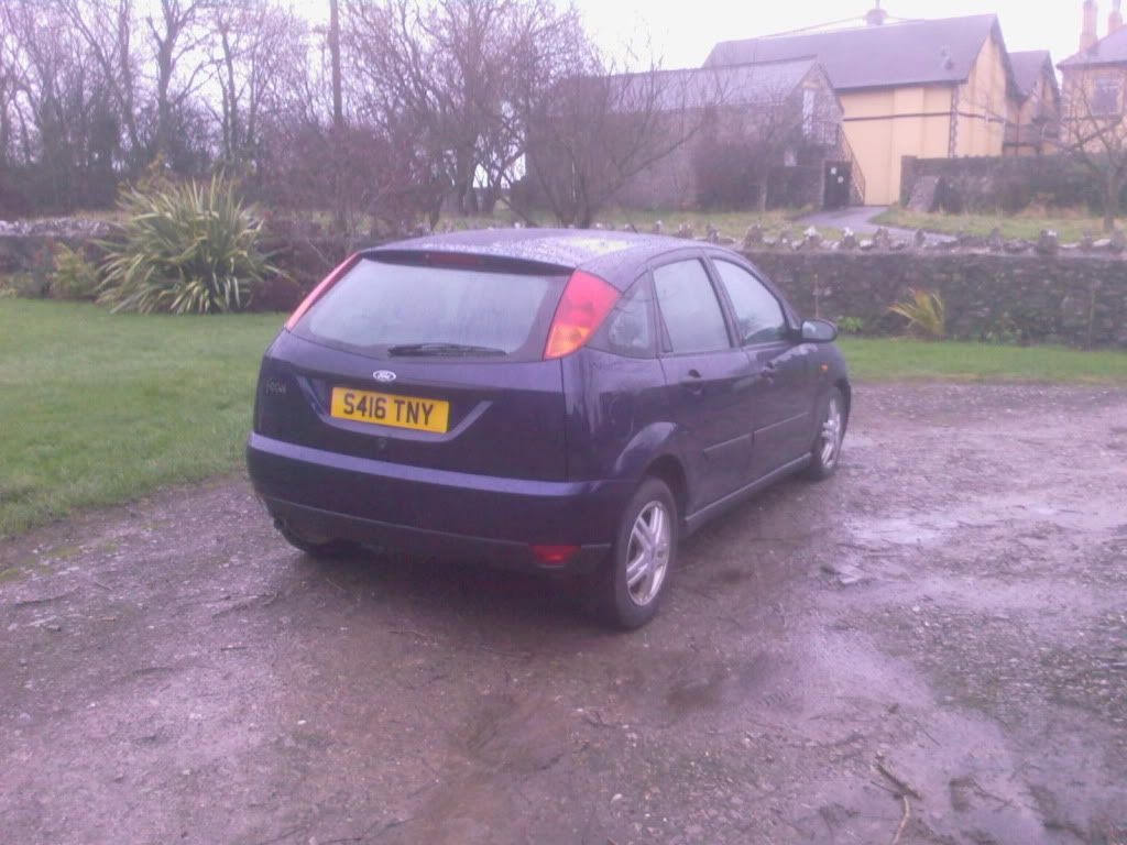 Ford focus 1800zetec Taxed and Tested Photo-0068