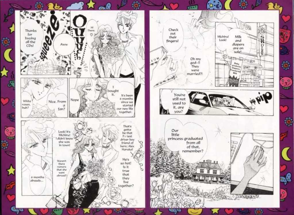 Questions about the manga 1050Smile_1-6_56__Sailor_Moon_
