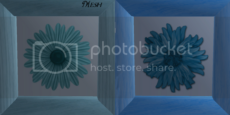 Flowery Picture-Frame - New Mesh by Anidup MeshandBlue