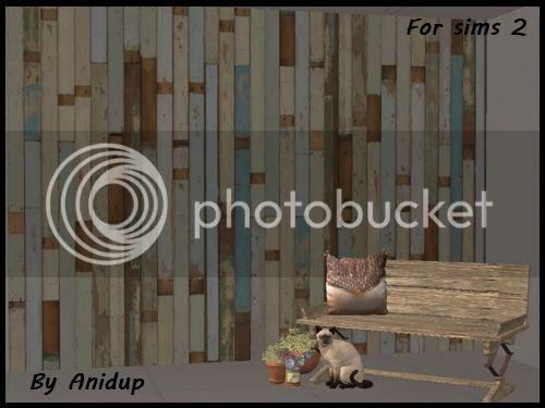 The Sims 2: Distressed Wood Walls WWBlouBrown_zpstubjljzb