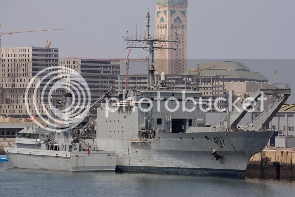 Royal Moroccan Navy Newport class / Sidi Mohammed Ben Abdellah ( 407 ) ( Inactive ) IMG_4907