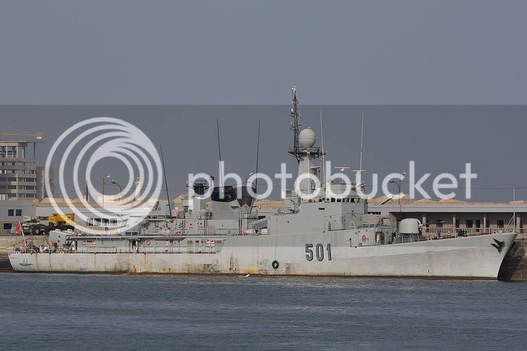 Royal Moroccan Navy Descubierta Frigate / Patrouilleur Océanique Lt Cl Errahmani - Bâtiment École IMG_5732