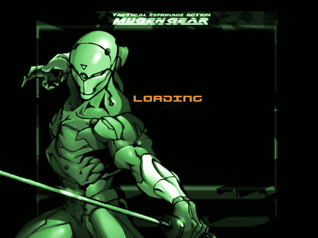 METAL GEAR SOLIDE - HI-RES - SCREENPACK ! Loadinggear