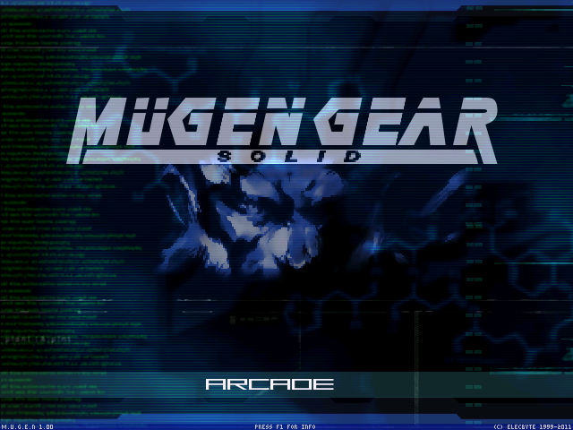 MetalGear or MugenGear 1.0 Sreen Pack WIP! Mugen000-24